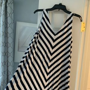 Ann Taylor LOFT Chevron Dress